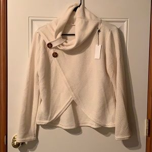Sweaters - Cowl Neck Sweater - Sz L